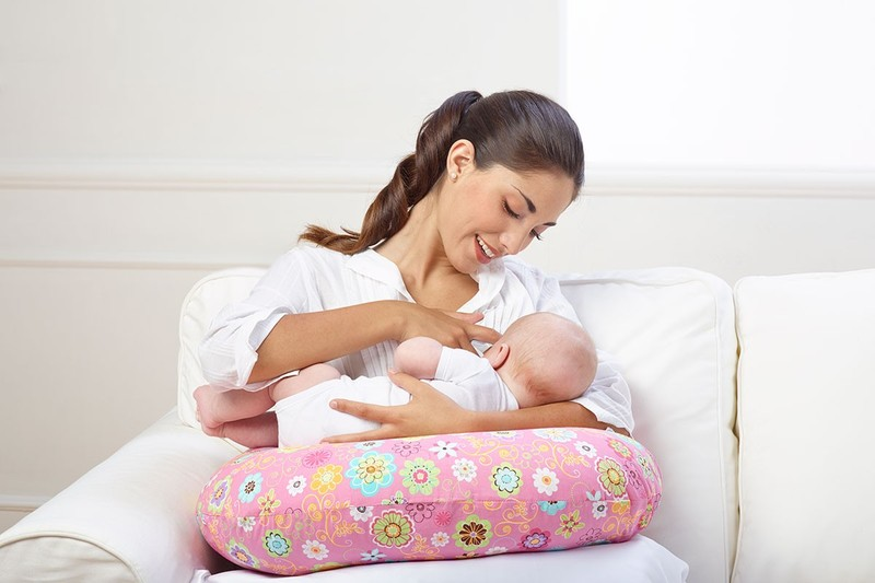 Cuscino allattamento Boppy cover Honeybear