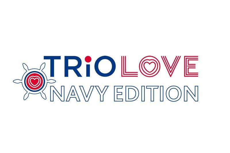 Trio Love Navy Edition con kit car