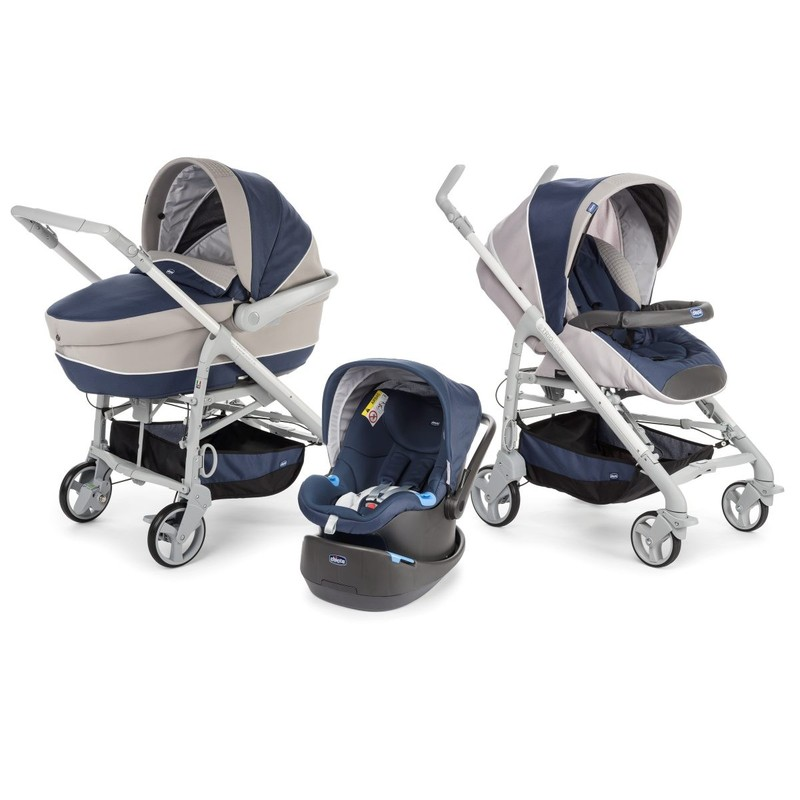 Trio Chicco LOVEmotion Blu Passion