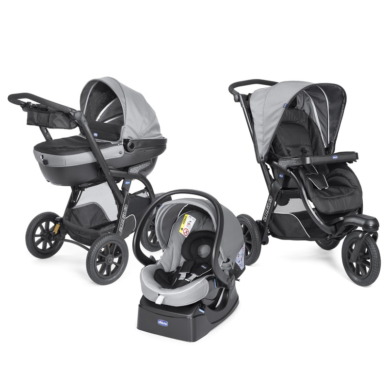 Trio Activ3 con kit Grey