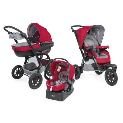 Trio Activ3 con Kit Car Red Berry