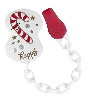 Clip con catenella Bastoncino Natale