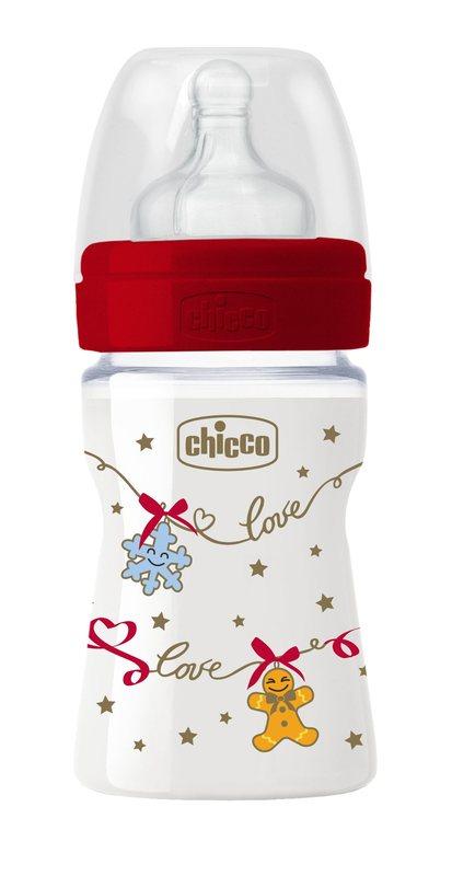 Biberon Benessere Natale 150 ml silicone