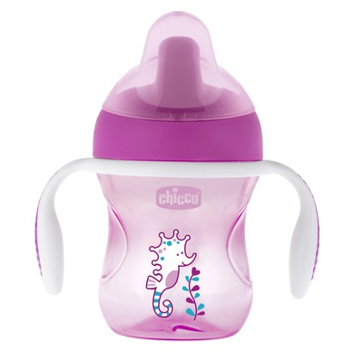 Training Cup 6m+ 200 ml Pink