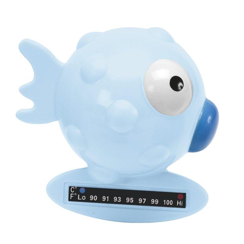 Termometro da bagno pesce palla Azzurro
