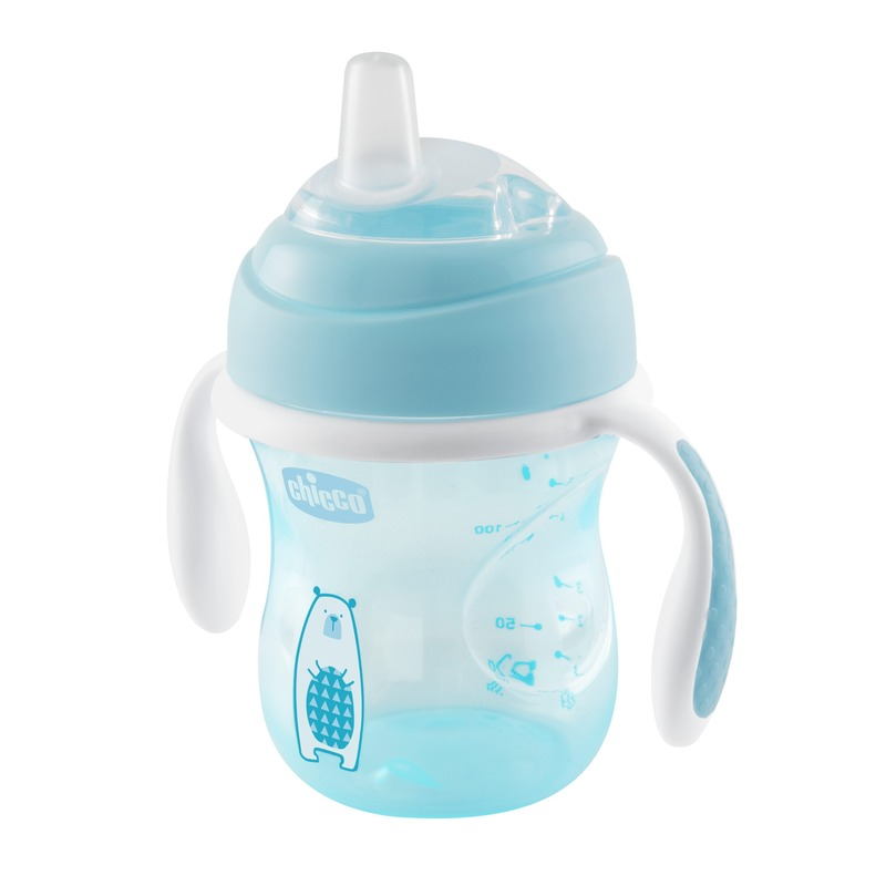 Tazza Transition Cup 200 ml 4m+ Azzurra