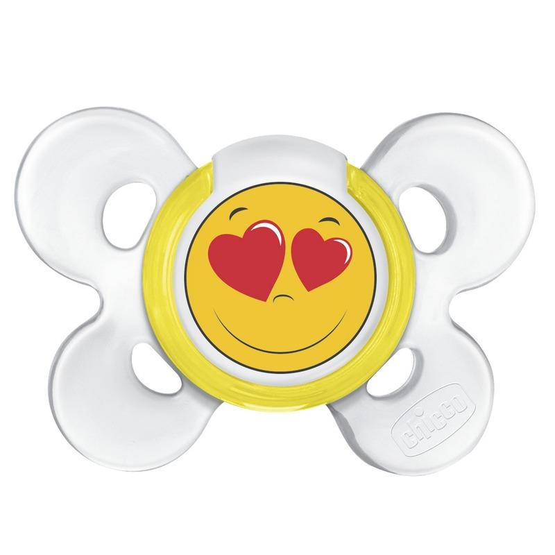 Succhietto Physio Comfort 0-6m Smile Silicone 1 succhietto