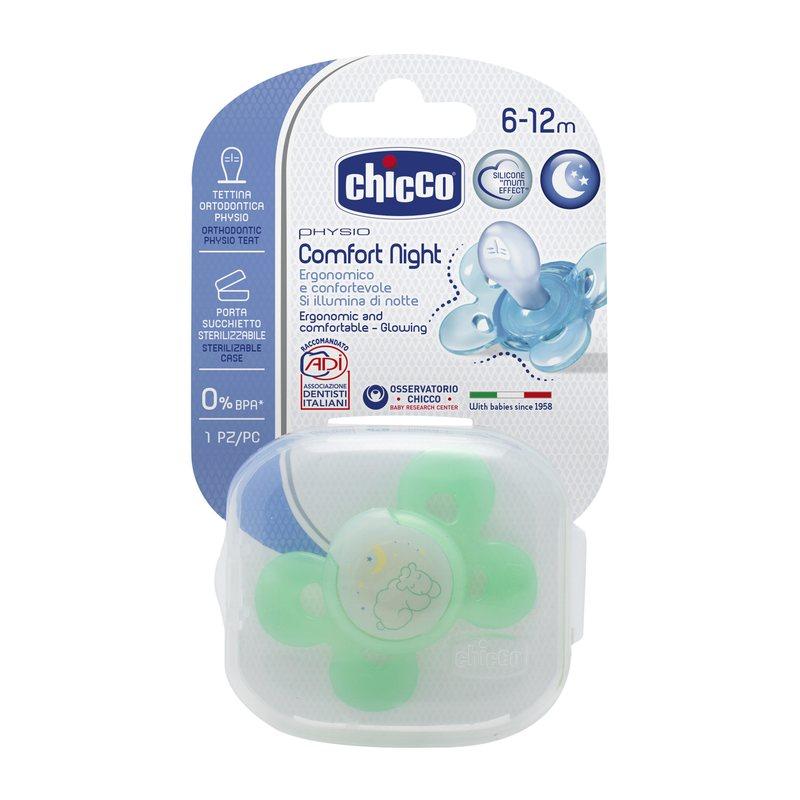 Succhietto Physio Comfort 6-12m Lumi Silicone