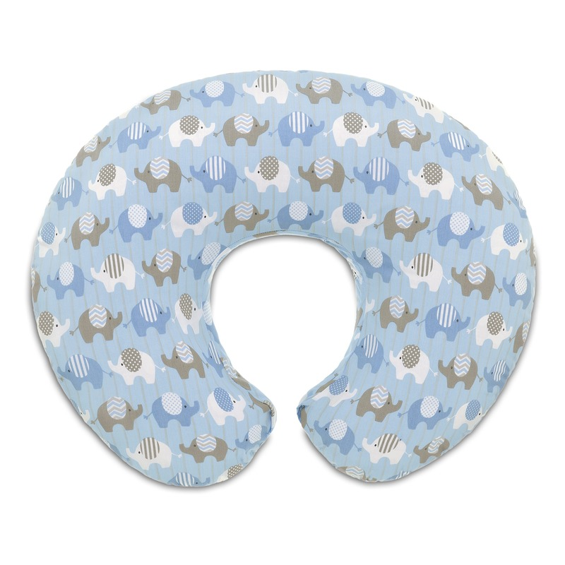 Foderina cuscino allattamento Boppy Elephants Blue