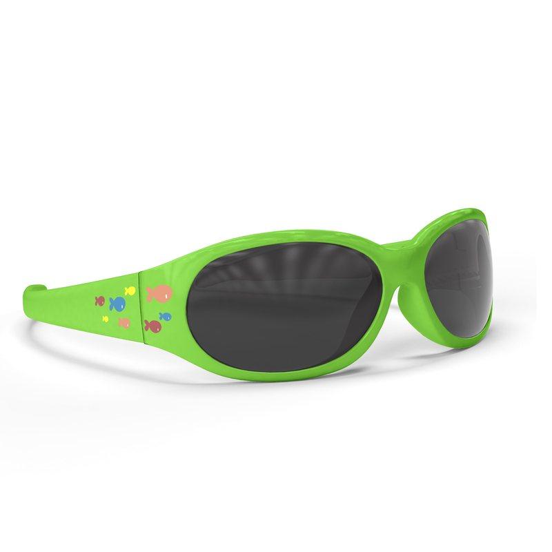 Occhiali da sole unisex fluo green 0m+