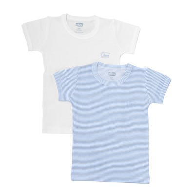 Set due magliette costina