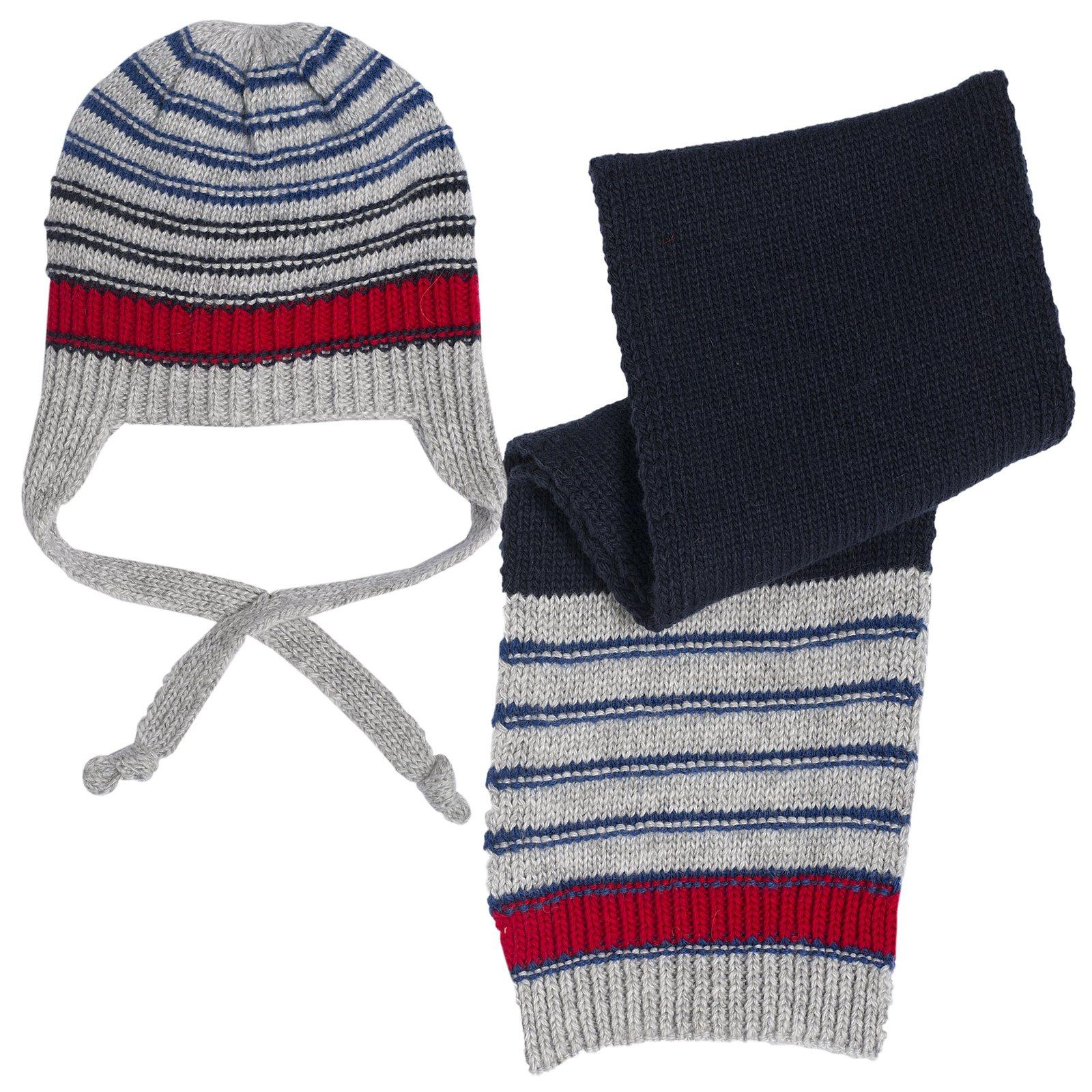 SET 2PZ CAPPELLO+SCIARPA - Set sciarpa e cappello Essere bimbo ... 9d4d76ecba43