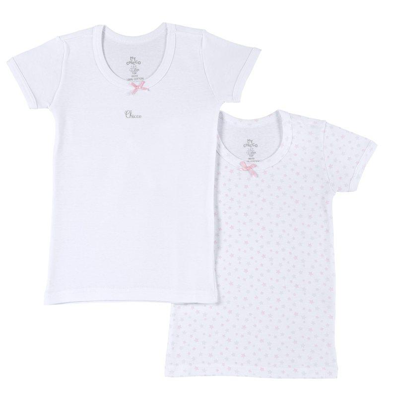 Set 2 magliette intime costina
