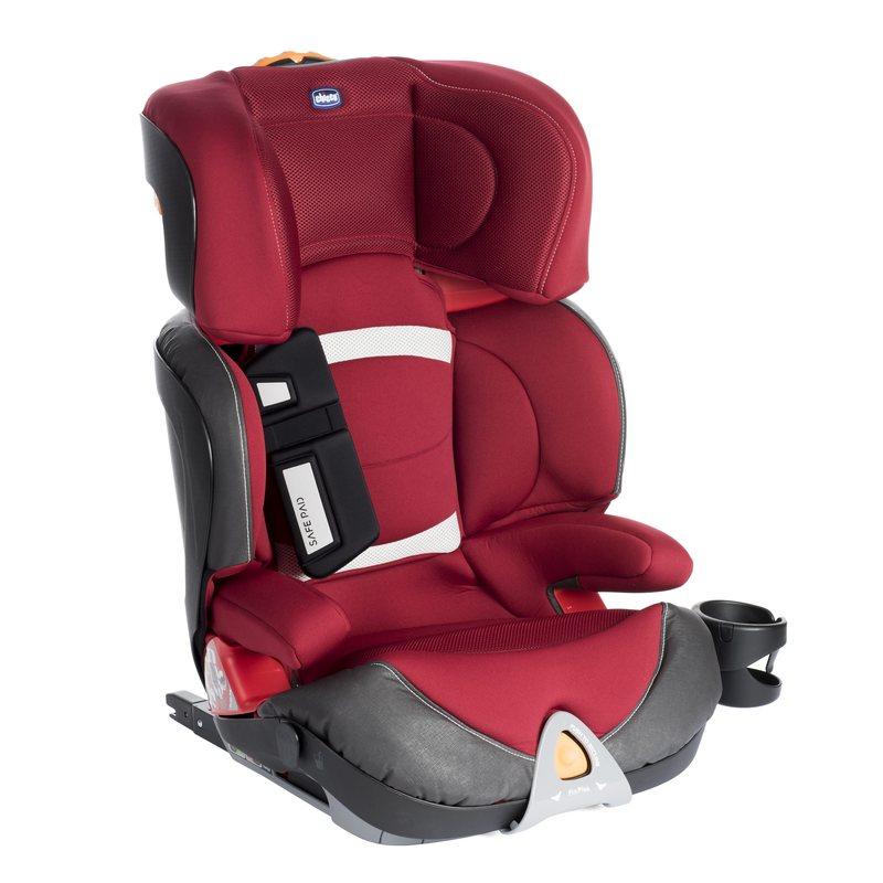 Seggiolino Auto Oasys 23 Fixplus Red Pas