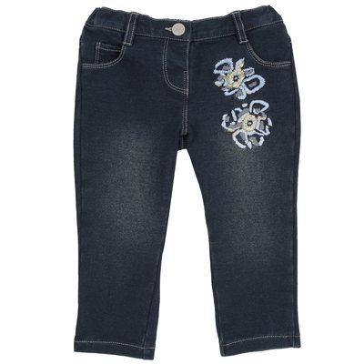 Pantalone con fiori