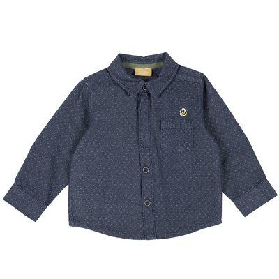 Camicia jaquard con taschina