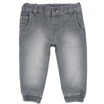 Pantalone lungo denim maglia