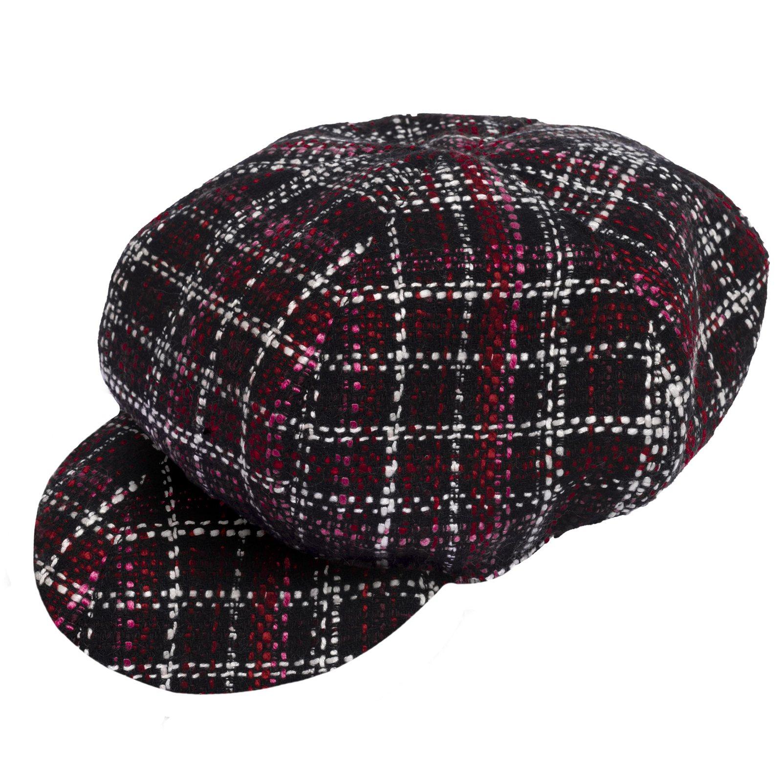 Accessori bambina cappello baffy rosso scuro  bf213dd263e3