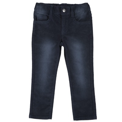 Pantalone slim fit in velluto a coste