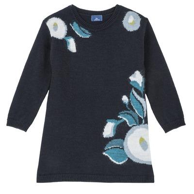 Abito floreale in tricot