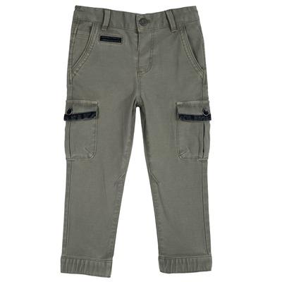 Pantalone lungo con tascone