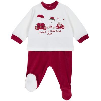 Set blusa e pantalone lungo Natale
