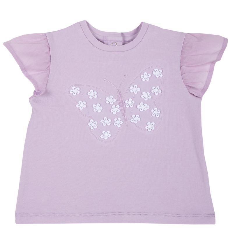 T-shirt con farfalla