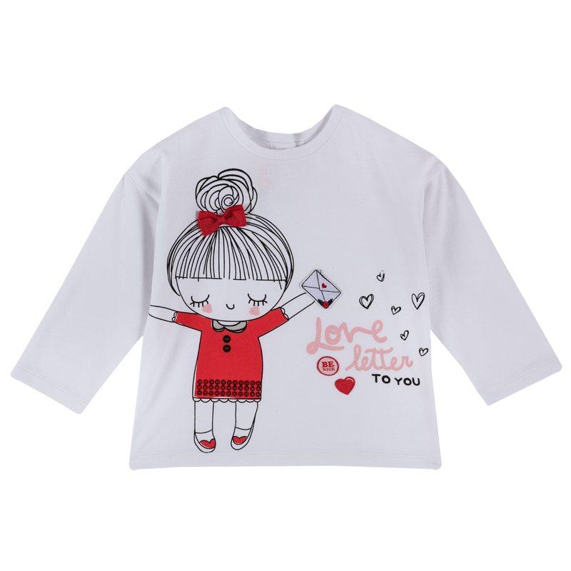 Maglietta con bambina