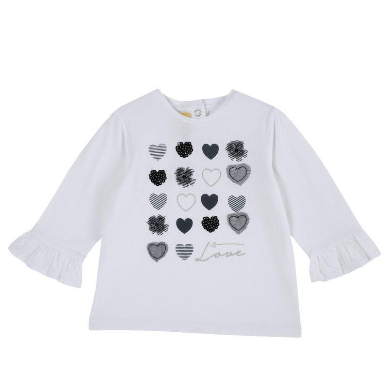 Maglietta con cuori