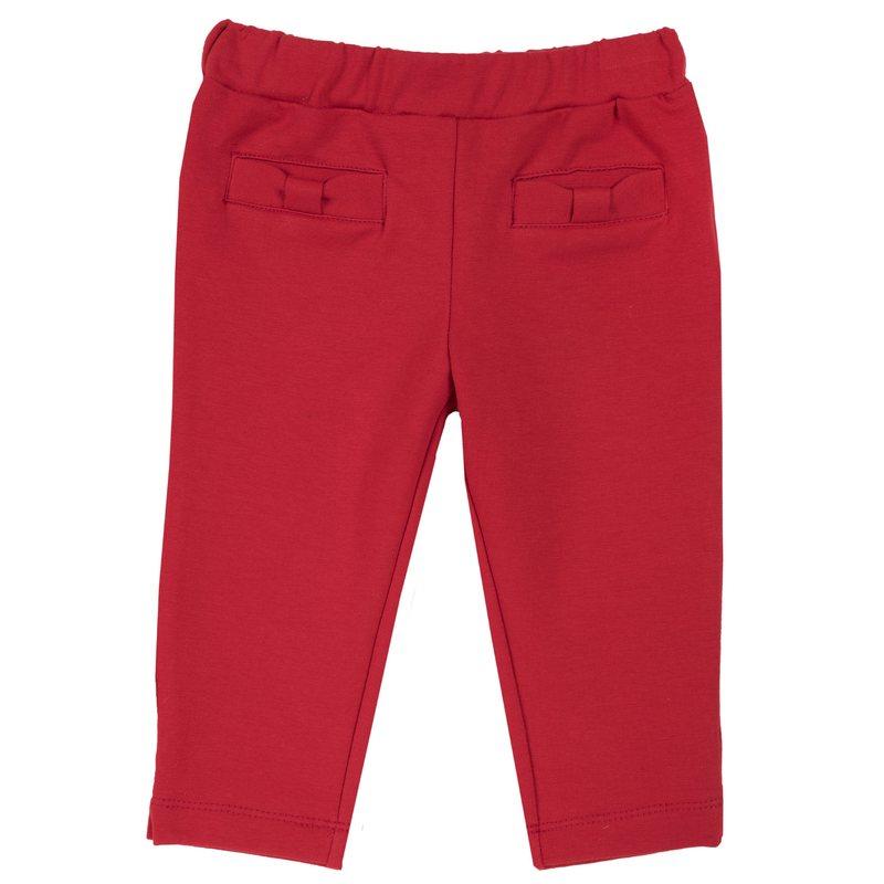 Pantalone in felpa con fiocchi