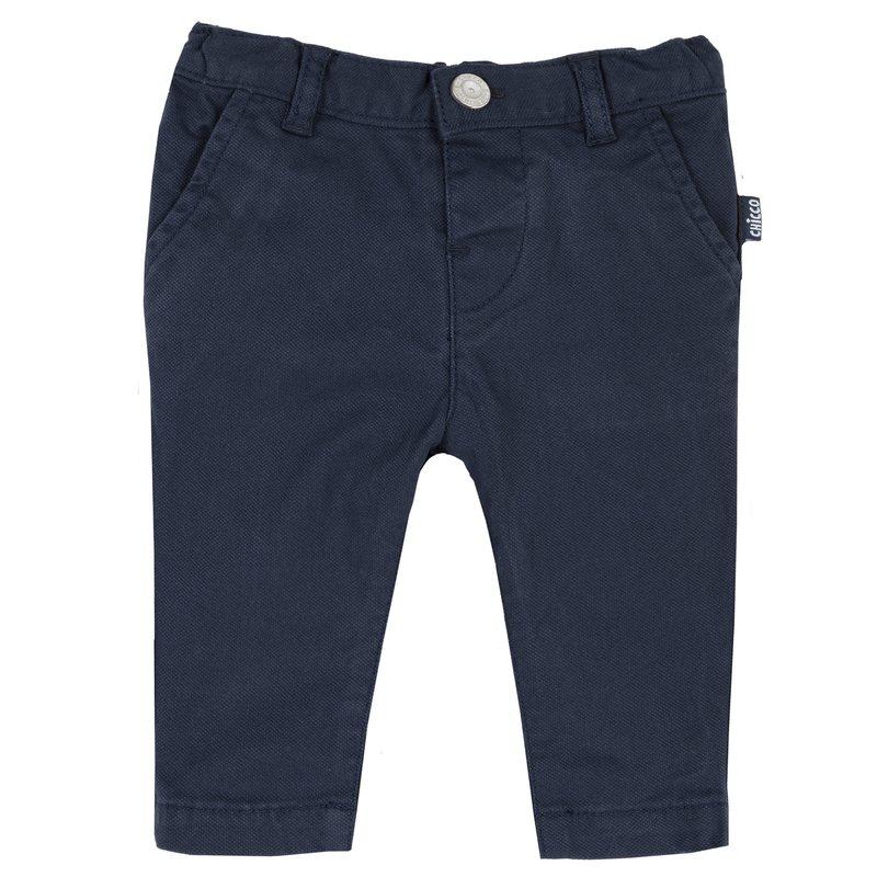 Pantalone lungo con tasche 1M BLU SCURO