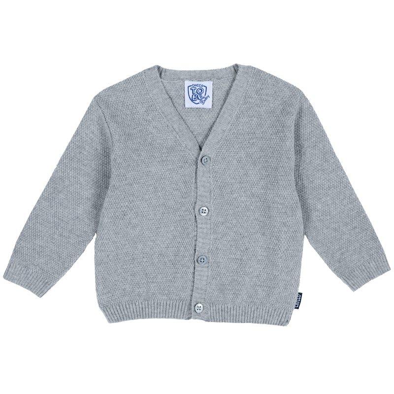 Cardigan di tricot con bottoncini