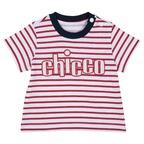 T-shirt Chicco 1M BIANCO E ROSSO