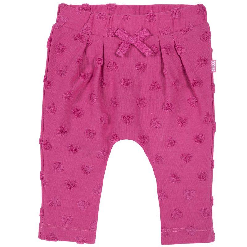 Pantalone lungo con fiocchetto