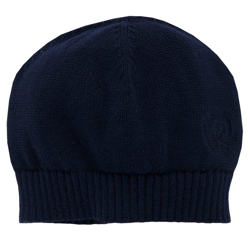 Cappellino ti tricot con ricamo