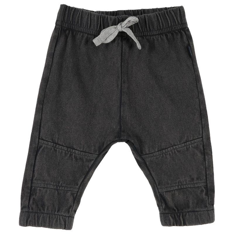 Pantalone di cotone con laccetto