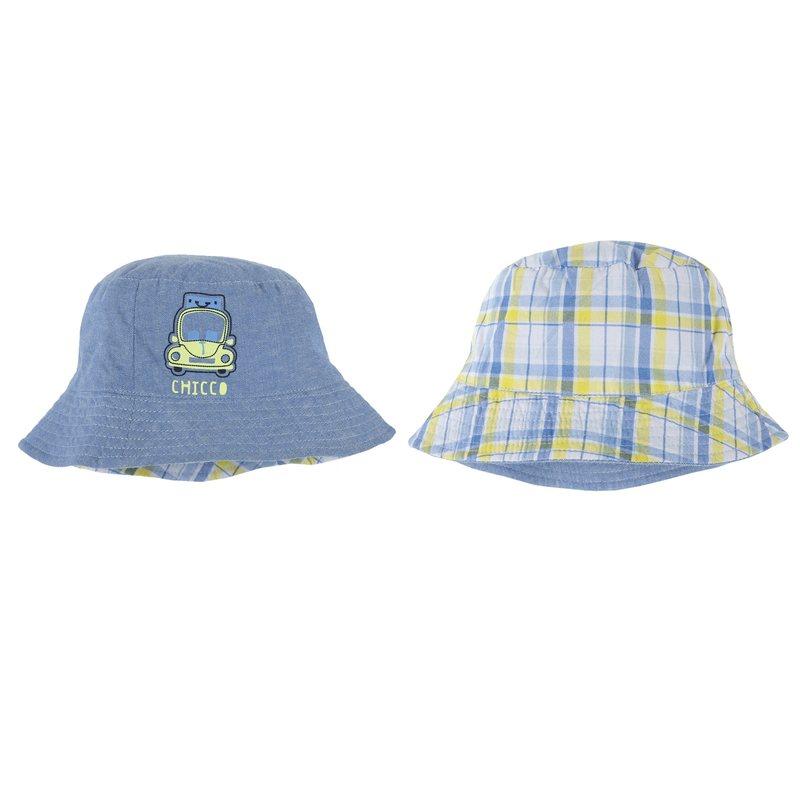 Cappello reversibile con macchinina
