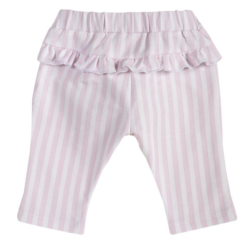 Pantaloni con fiocco