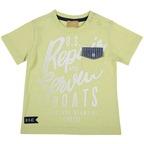 T-shirt con taschina 9M VERDE CHIARO