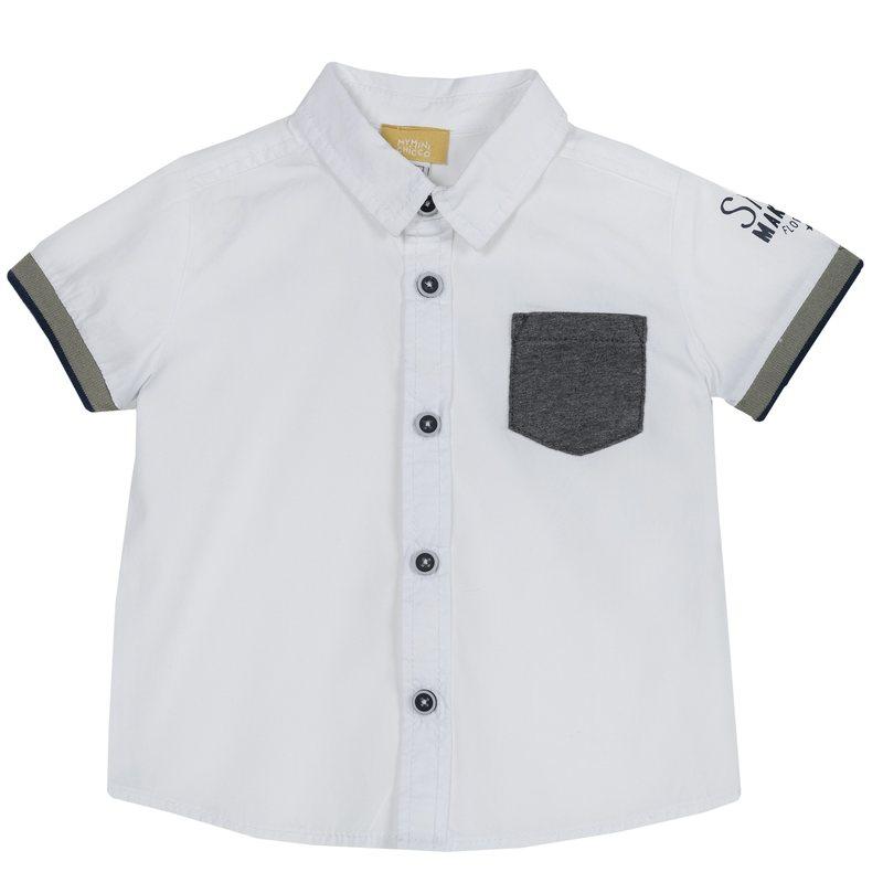 Camicia con tasca