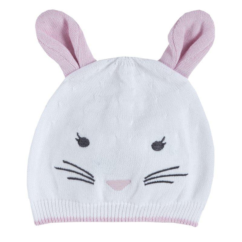 Cappellino di tricot con orecchie