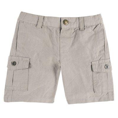 Pantalone corto con tascone laterali