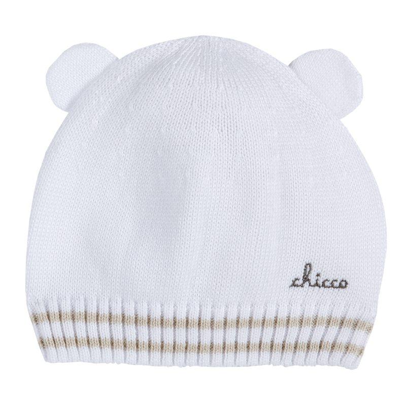 Cappello in tricot con orecchie