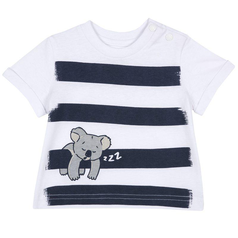 T-shirt con simpatica stampa 1M BIANCO