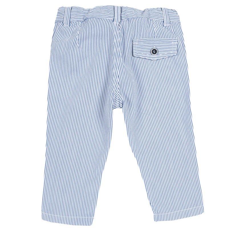 Pantalone con fantasia a righe