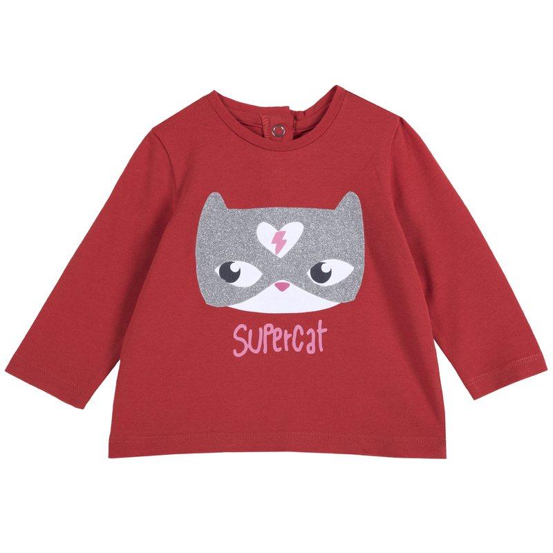 Maglietta con gattino