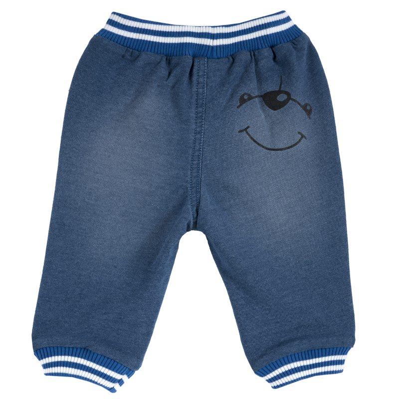 Pantaloni con applicazione