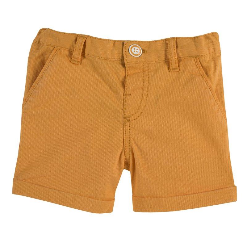 Pantaloncino in twill stretch