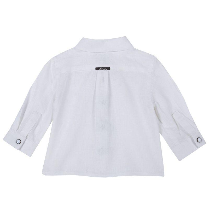 Camicia misto lino