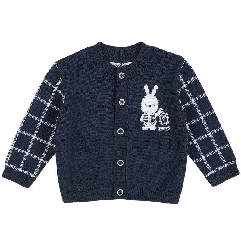 Cardigan con coniglietto